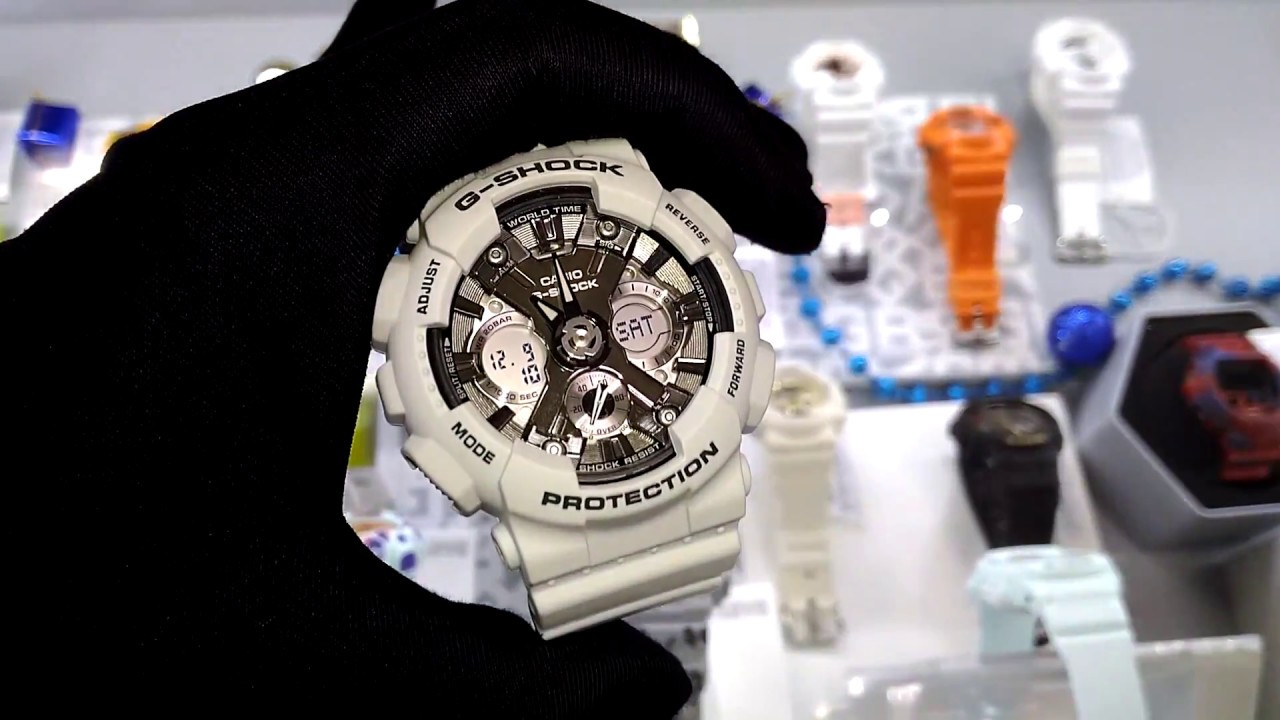 f9ec6c3070fa CASIO G-SHOCK GMA-S120MF-2AER - YouTube