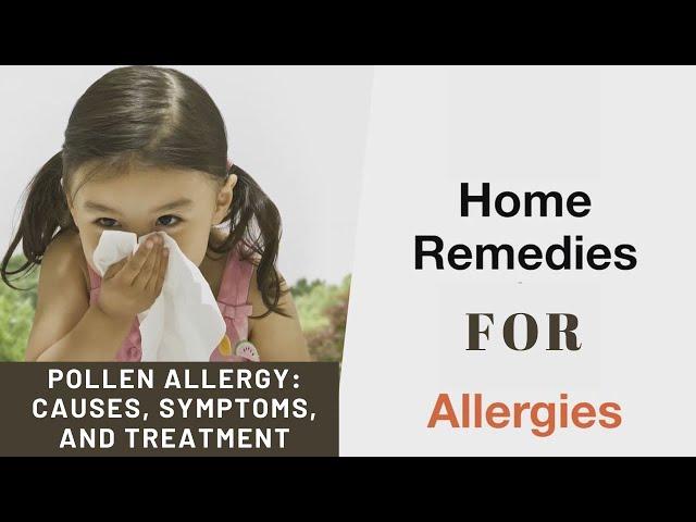 symptoms of pollen allergy
