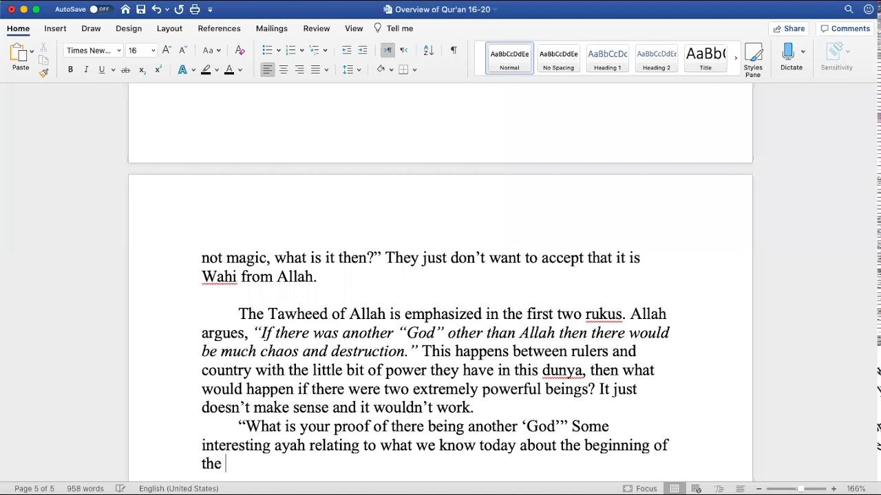 Sh. Zubair || Quranic Overview (Juz 17)