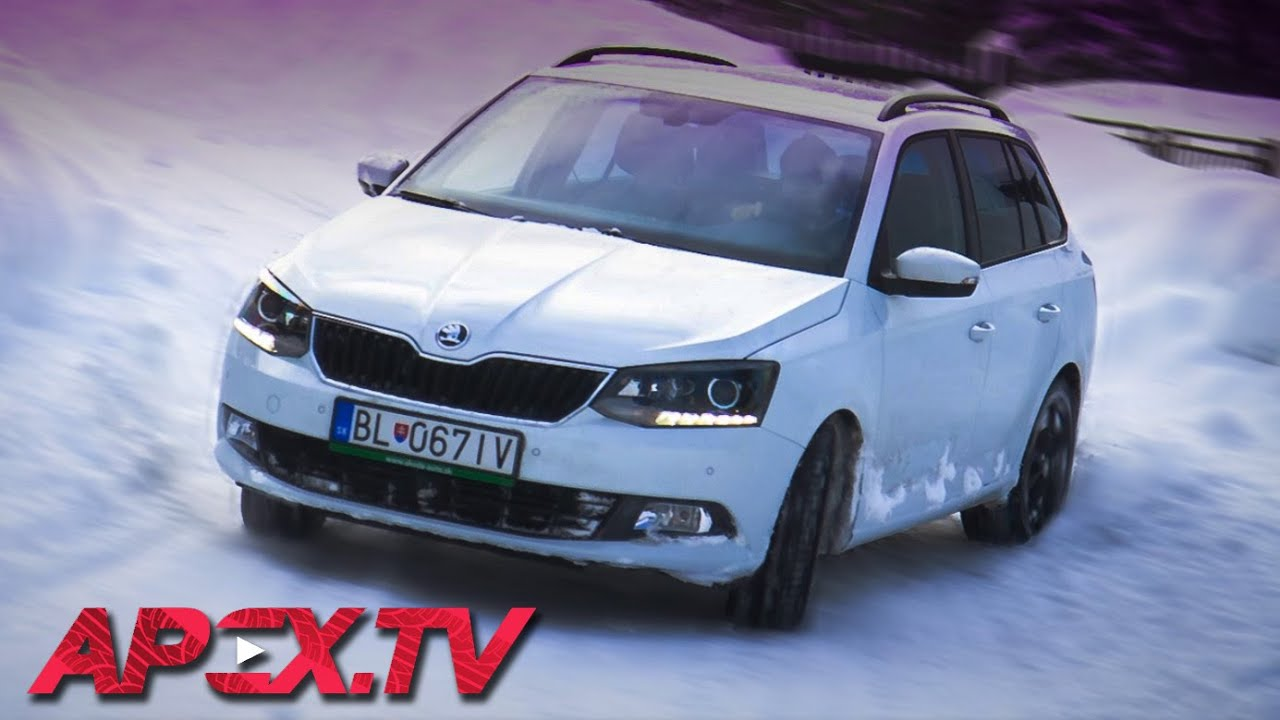 skoda fabia iii combi vs dog sled majo b na apex tv doovi. Black Bedroom Furniture Sets. Home Design Ideas