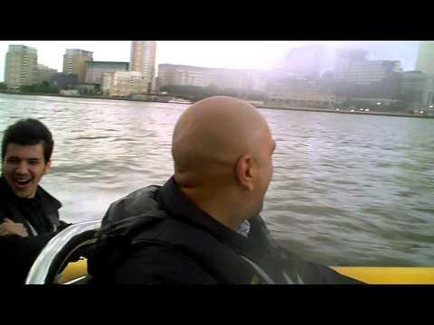 BNO Getting hairy on the Thames Rib Ride!