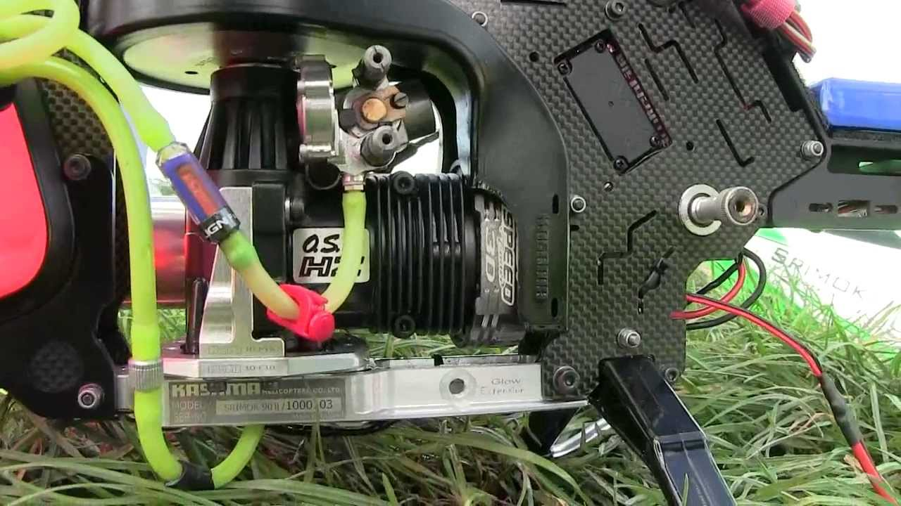 Kasama Shrimok 90 RC Helicopter Up Close OS 91 HZ R 3D