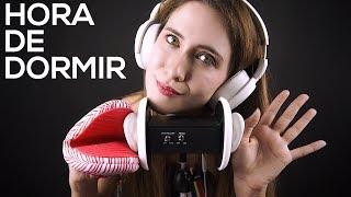 HORA DE DORMIR! Sonidos cosquillosos para ti | Asmr español