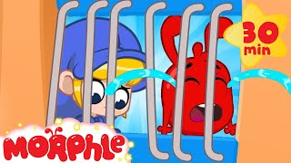 Morphle Cries IN JAIL! - Mila and Morphle   Cartoons for Kids   My Magic Pet Morphle
