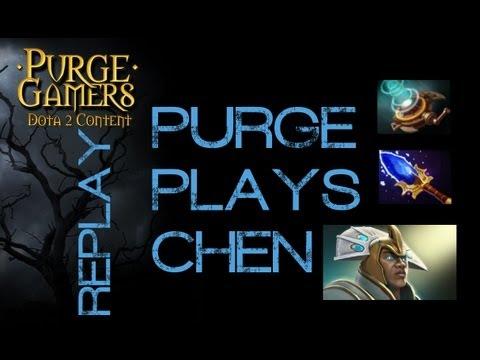 Dota 2 Purge plays Chen
