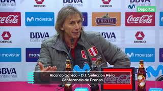 Ricardo Gareca: conferencia de prensa del DT de Perú tras el triunfo ante Costa Rica