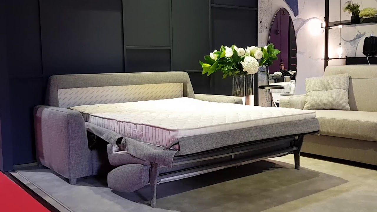 Oliver Sofa Bed Opening System - YouTube