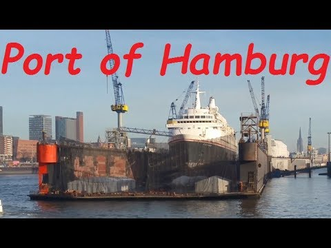 Port Tour On MS Hamburg (Dry Docks & Container Terminal Included)