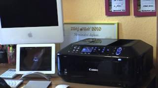 Apple iPad & Canon MX-885