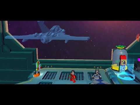 LEGO BATMAN BEYOND GOTHAM GAMEPLAY ANDROID A SALA DE CONTROLE PARTE 10 |