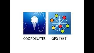 طريقة استخراج الاحداثيات باستخدام تطبيق  GPS TEST وتطبيق  COORDINATES screenshot 5