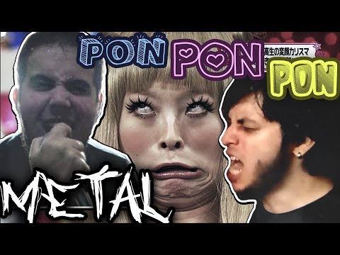 Kyary Pamyu Pamyu - PONPONPON (Metal Cover)