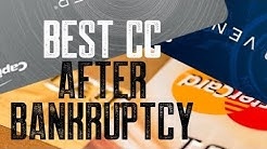 BEST CREDIT CARD TO APPLY FOR AFTER BANKRUPTCY?