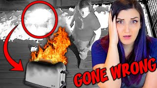 I Almost Burned My House Down (Caught On Camera) & Then Bought a $300 Smart Toaster