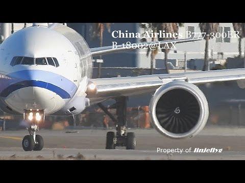China Airlines B777-300ER B-18002@LAX
