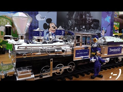 Modelling Railway Train Track Plans -Collectible Toy Trains: Limited Edition Disneyland Railroad Train Set Playtime w/ Maya