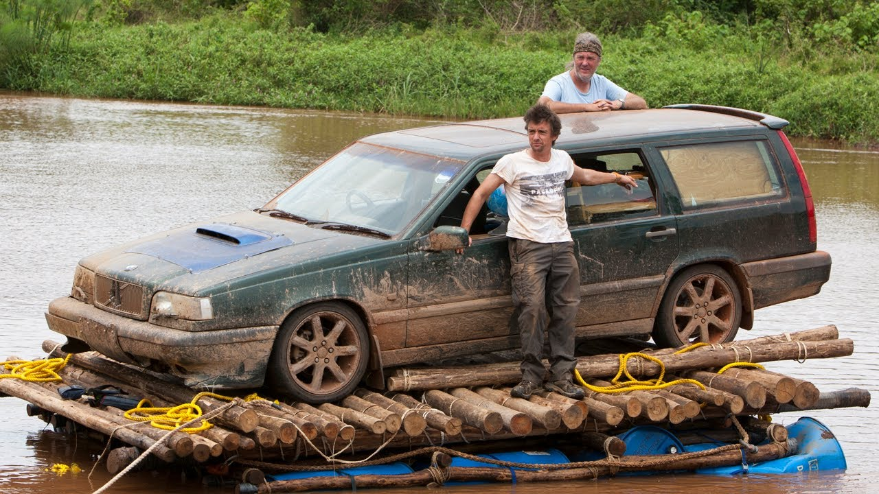 top gear africa special car river raft crossing march 18 bbc america youtube. Black Bedroom Furniture Sets. Home Design Ideas