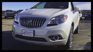 Used 2016 Buick Encore CXL *FOR SALE* / AWD White / 17p012
