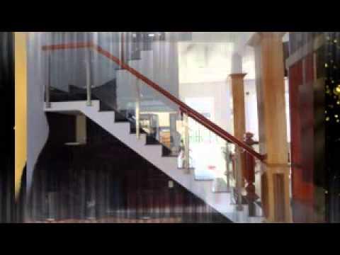 Lan can kính - Một số mẫu lan can cầu thang kính cường lực mới, đẹp, bền, rẻ