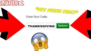 *NEW* ROBLOX PROMOCODE *LIMITED TIME ONLY* (ROBLOX THANKSGIVING CODE!)