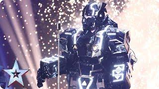 Will singing robot Jay Wynn's electric dreams come true?   Semi-Final 3   Britain's Got Talent 2017