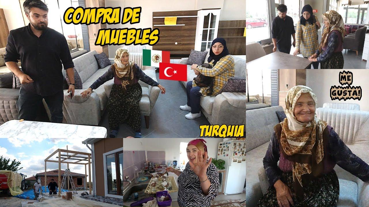 Compra De Muebles Con Mi Suegra + Llegó La Kamelya | Mexicana En Turquía