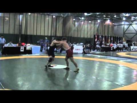 2009 Junior National Championships: 66 kg Greco Luke Huget vs. Austin Van Horne