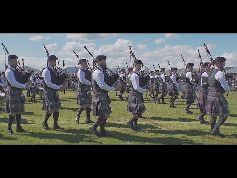 Scottish Power at the Gourock Highland Games 2018