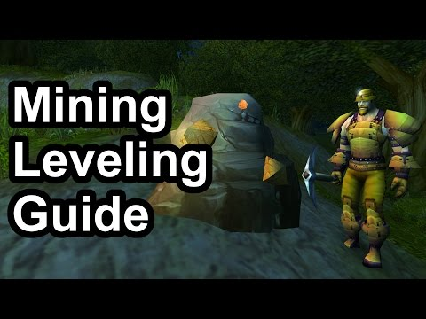 1 - 300 Mining Leveling Guide (1.12.1) [WoW Classic]