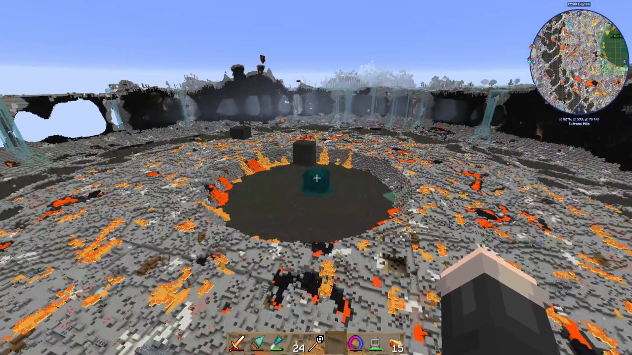 OOPS! Draconic Reactor Meltdown on the MP Server