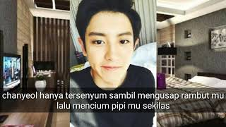 FF SUB INDO EXO (CHANYEOL) WHAT ARE YOU WAITING FOR PART 15.