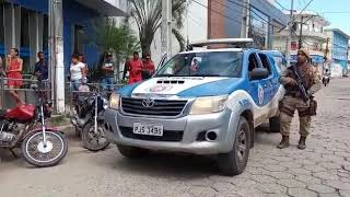 Teixeira: Polícia Militar Transmite Mensagem à