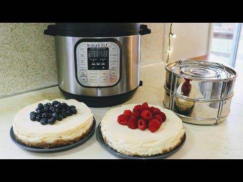 instant-pot-insert-pans-||-double-cheesecakes!