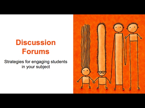 How to design a discussion forum