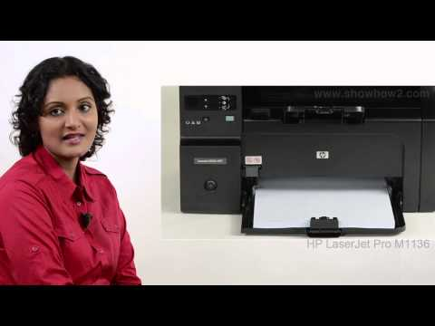 HP Laserjet Pro M1136 - Clean Printer interior - Preview