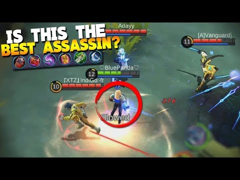 NEW HERO Lancelot Max Cooldown Build/Items Gameplay Mobile Legends