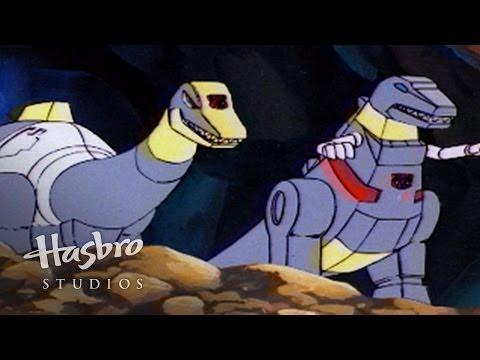 Transformers: Generation 1 - Autobots Meet Dinobots