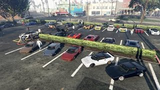 Grand Theft Auto V Online (PS4) | Because Racecar Meet | New Cars, Ride Alongs, Drags & More
