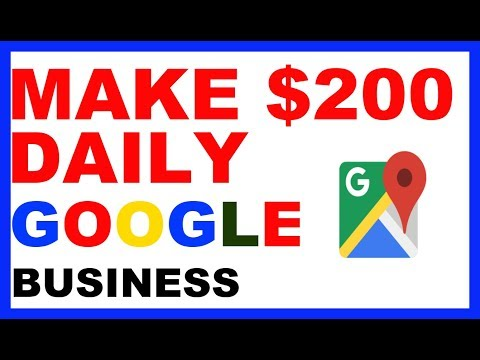 Make $200+ Daily With Google My Business (No Investment)