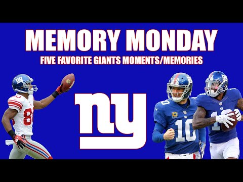 NY Giants: Memory Monday (5 of my favorite Giants moments)