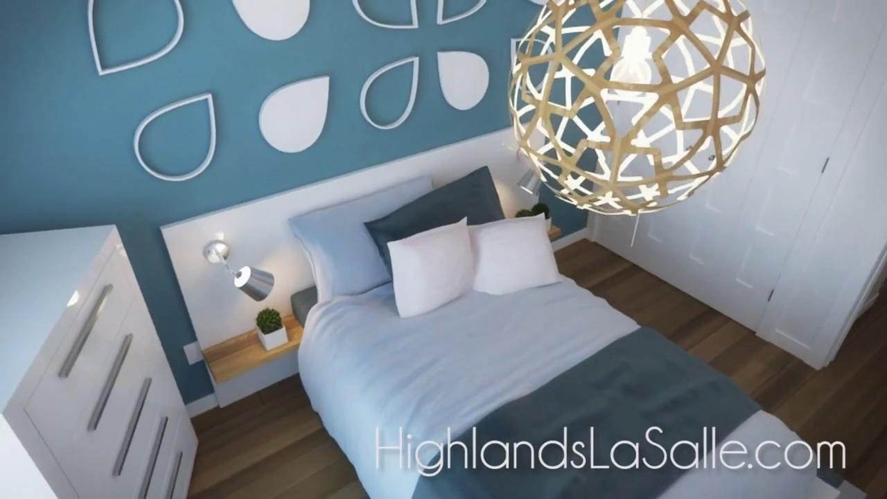 Highlands lasalle visite virtuelle de la maison de ville for Maison de la literie beziers