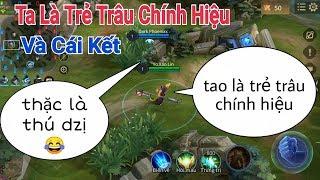 Troll Game _ Chat Tổng Tự Nhận Là Trẻ Trâu Và Cái Kết Kinh Dị | Yo Game