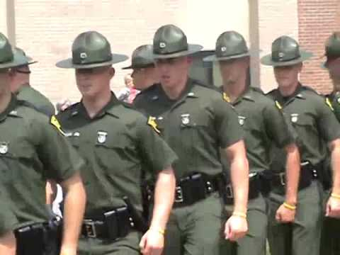 61st Cadet Class WV State Police March The X
