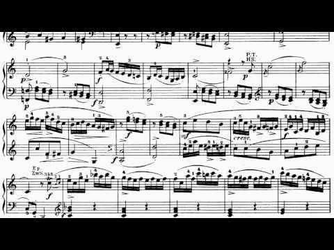 ABRSM Piano 2013-2014 Grade 7 A:2 A2 Mozart Allegro Sonata in C K.279 Mvt 3 Sheet Music