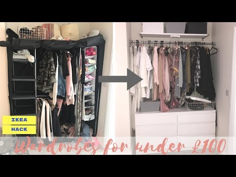 WARDROBES FOR UNDER £100 | IKEA HACK | Lucy Jessica Carter