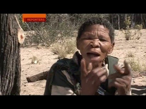Sue Lloyd-Roberts - BBC Reporters Special - Botswana, treatment of the Bushmen,  2005