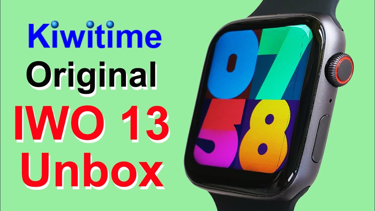 Kiwitime Iwo 13 Smart Watch Series How To Connect Iwo 13 Smartwatch With Iphone Youtube