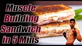 Bodybuilding Breakfast at home. Cheap and Best in 5 mins.