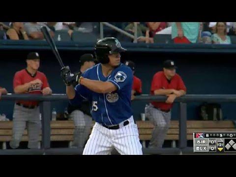 Biloxi's Tyrone Taylor hits homer