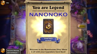 Hearthstone | FIRST TIME LEGEND NOKO